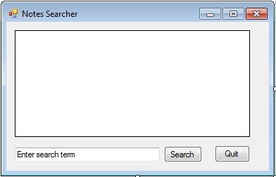 Using Full-text Search in a C# Windows Forms program | MSFT