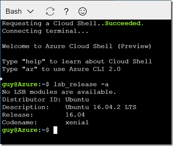 Azure Cloud Shell, Python, and Container Instances | MSFT Stack