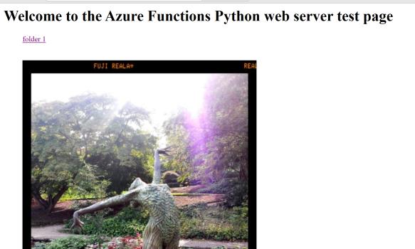 Azure Functions 2 0 demo: A Python + GitHub webserver   MSFT